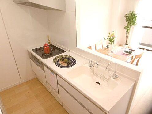 中古マンション-相模原市緑区橋本3丁目 システムキッチン新規交換(ビルトイン食洗器・浄水器付)