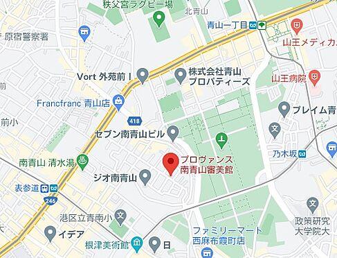 アパート-港区南青山4丁目 地図