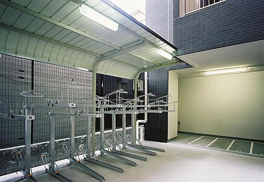 マンション(建物一部)-大阪市天王寺区上本町5丁目 屋外二段式駐輪場