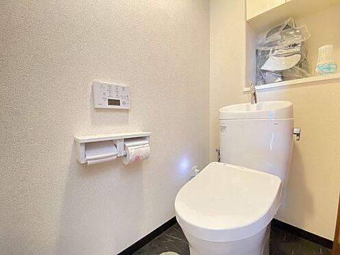区分マンション-東海市横須賀町狐塚 トイレ新品交換済み、上部収納もございます!