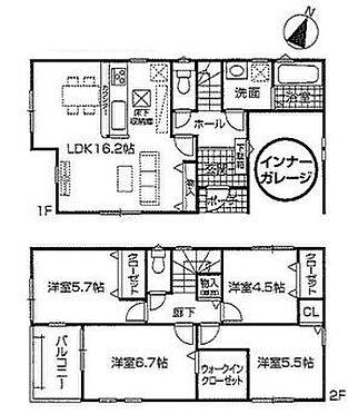 戸建賃貸-名古屋市中川区五女子町5丁目 2021年5月完成!日当たり良好で全室収納付きです!