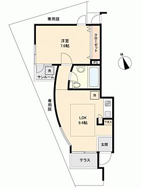 マンション(建物一部)-川崎市高津区下作延 間取り