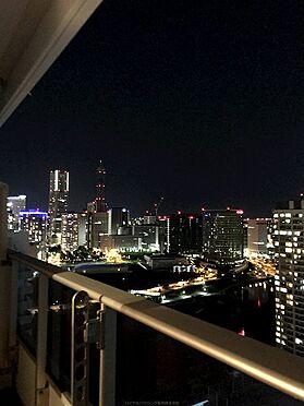 中古マンション-横浜市神奈川区栄町 バルコニーからの眺望、この眺望には癒しの効果が