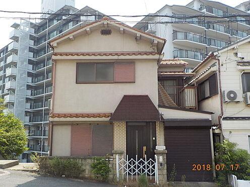 土地-神戸市須磨区妙法寺字蓮池 現状の古家:1983年9月建築