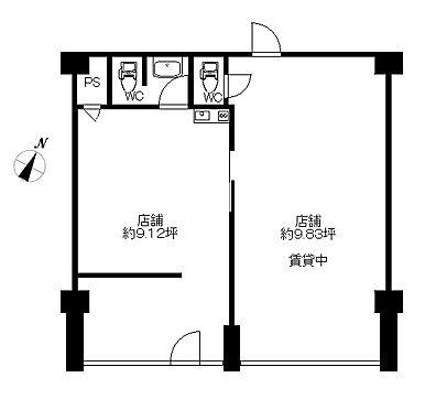 店舗・事務所・その他-川崎市麻生区白山4丁目 間取り