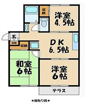 アパート-町田市忠生4丁目 間取り