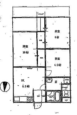 マンション(建物一部)-相模原市南区鵜野森2丁目 間取り