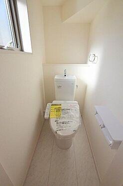 新築一戸建て-仙台市宮城野区二の森 トイレ