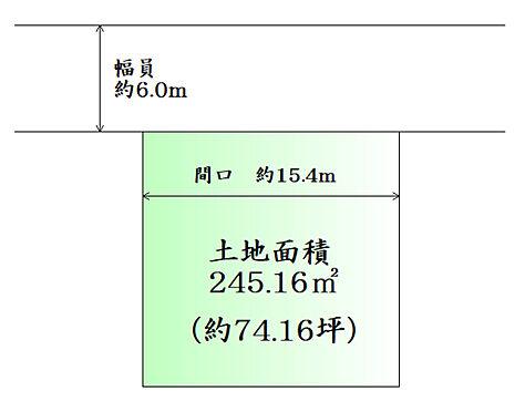 土地-刈田郡蔵王町遠刈田温泉字小妻坂 区画図