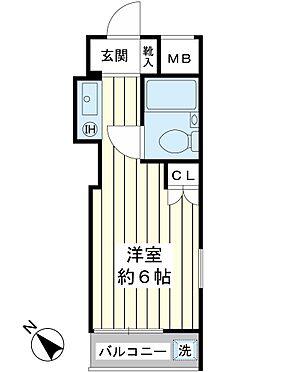 マンション(建物一部)-市川市相之川2丁目 南西向き最上階。オーナーチェンジ物件。ワンルームマンション。