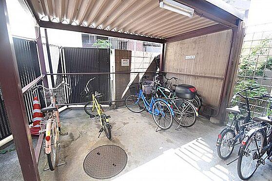 マンション(建物一部)-大阪市天王寺区悲田院町 屋根付きの駐輪スペース