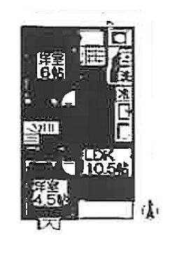 アパート-袋井市春岡 間取り