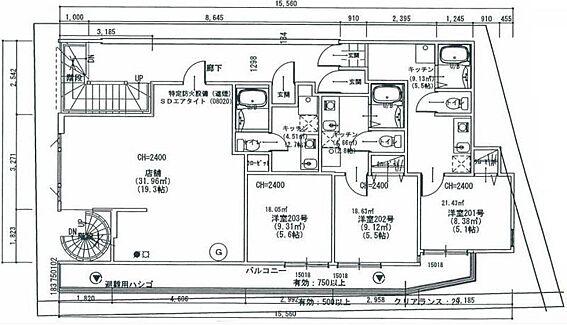 アパート-横浜市旭区中希望が丘 間取り