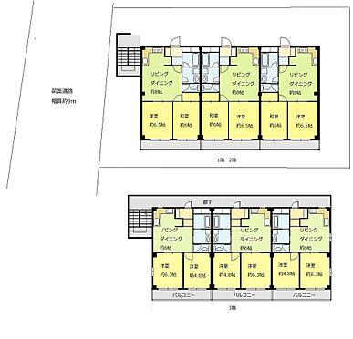 マンション(建物全部)-市川市大野町3丁目 全部屋2DK以上です