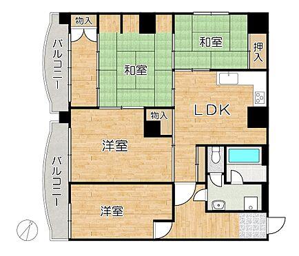 マンション(建物一部)-神戸市須磨区大田町2丁目 間取り