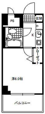 マンション(建物一部)-京都市右京区西院清水町 間取り