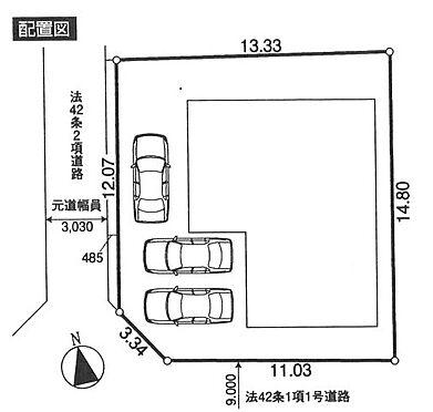 店舗事務所(建物全部)-東大和市奈良橋2丁目 区画図