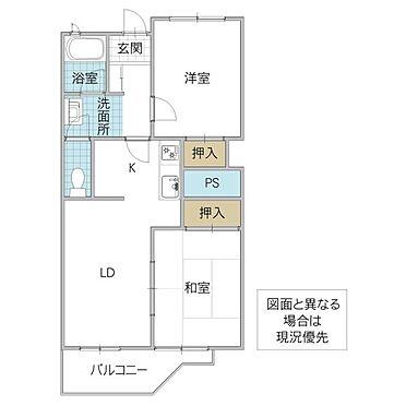 区分マンション-水戸市栄町2丁目 間取り
