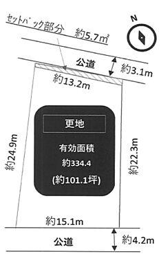 土地-神戸市垂水区千鳥が丘3丁目 区画図