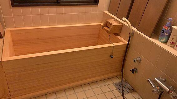 リゾートマンション-熱海市熱海 浴室です。海音クラブの加入により、温泉引湯が可能になります。