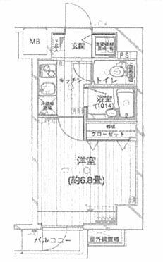 中古マンション-品川区東五反田1丁目 間取り