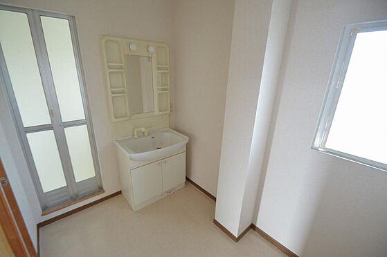 アパート-いなべ市大安町石榑南 洗面部分は大型のシャンプードレッサー完備