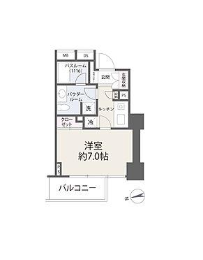 区分マンション-新宿区西早稲田3丁目 間取り図