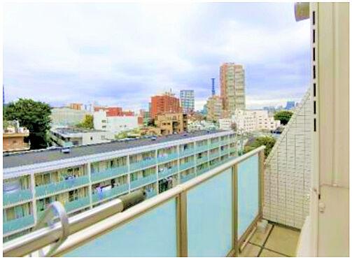 区分マンション-新宿区余丁町 バルコニーからの眺望