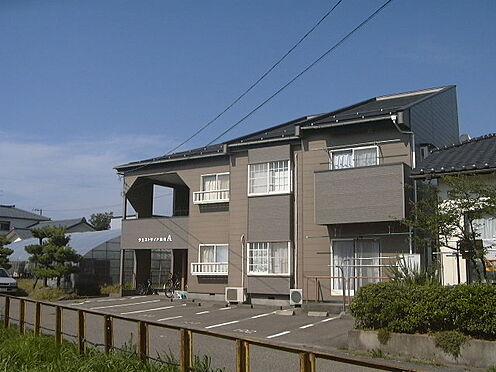 アパート-新潟市西区善久 A棟の外観