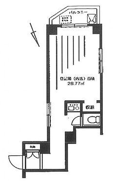 マンション(建物一部)-中央区八丁堀3丁目 間取り