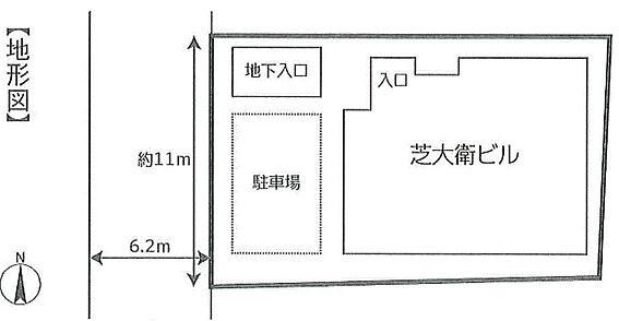 ビル(建物全部)-港区芝大門1丁目 区画図