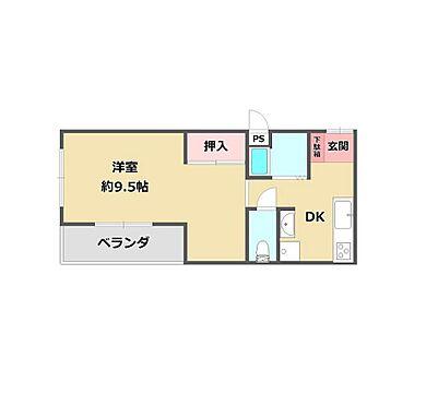マンション(建物一部)-神戸市東灘区本山北町6丁目 間取り