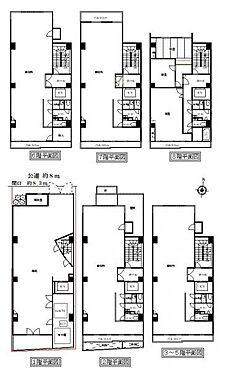 店舗事務所(建物全部)-名古屋市中村区名駅南1丁目 間取り