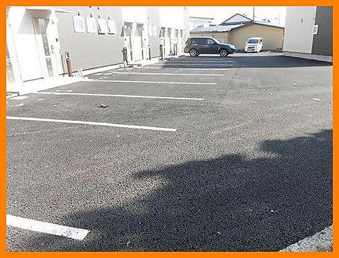 アパート-秋田市飯島穀丁 駐車場
