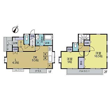 中古一戸建て-日野市大字川辺堀之内 3LDK〜4DKまでの間取り変更も可能です(※別途工事費用がかかります。)