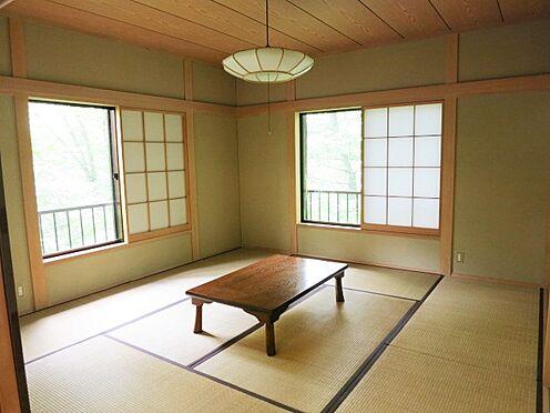 中古一戸建て-北佐久郡軽井沢町大字長倉 2LDKですが、いづれも和室ということで、大人数での利用も問題なし。