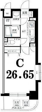 マンション(建物一部)-川崎市中原区今井南町 間取り