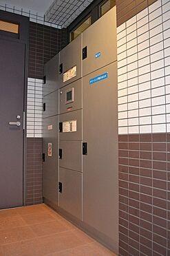 マンション(建物一部)-大阪市港区市岡1丁目 便利な宅配ボックスも完備