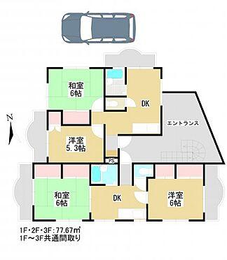 マンション(建物全部)-千葉市花見川区幕張町5丁目 間取り