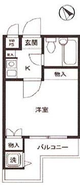 マンション(建物一部)-横浜市南区大岡1丁目 間取り