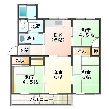 マンション(建物一部)-神戸市垂水区青山台4丁目 間取り