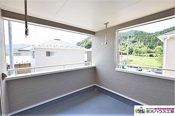 戸建賃貸-仙台市太白区茂庭字新組 バルコニー