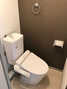 区分マンション-大阪市北区天神橋3丁目 トイレ