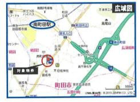 店舗(建物全部)-町田市鶴間4丁目 地図