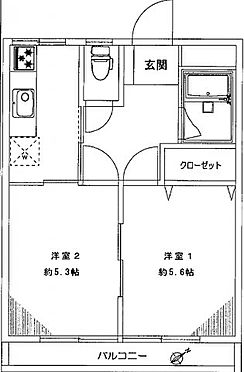 中古マンション-川崎市多摩区菅北浦2丁目 間取り