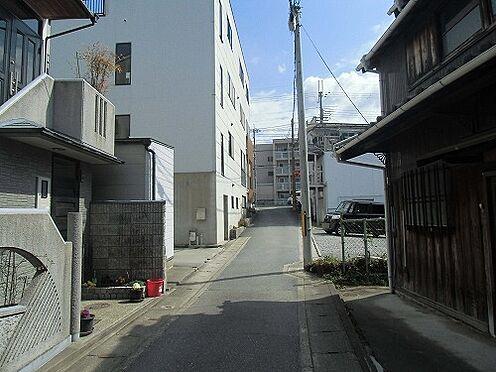 建物全部その他-京都市左京区山端滝ケ鼻町 前面道路