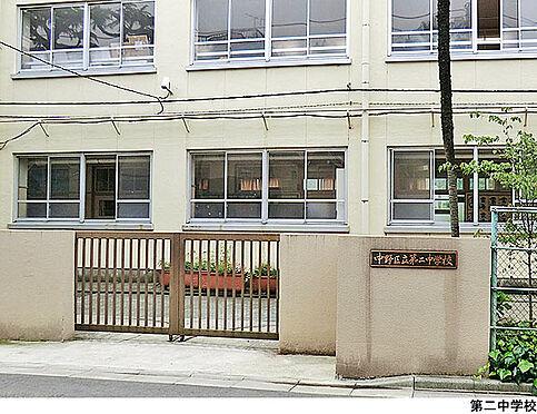 アパート-中野区本町4丁目 第二中学校