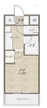 マンション(建物一部)-新宿区大久保2丁目 間取り