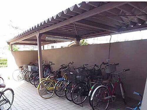 マンション(建物一部)-京都市伏見区横大路天王前 屋根付き駐輪場
