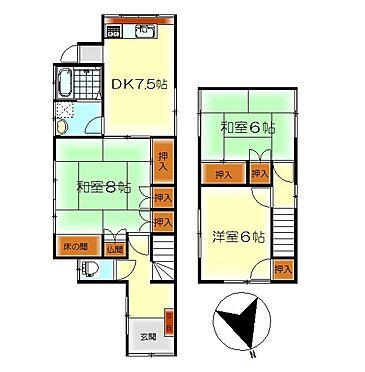 アパート-呉市汐見町 プライベート時間も大切にできる全室6帖以上の間取